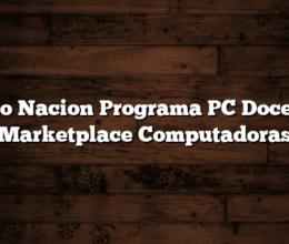 Banco Nacion Programa PC Docentes: Marketplace Computadoras