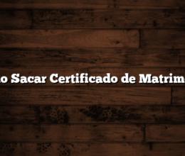 Como Sacar Certificado de Matrimonio