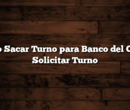 Como Sacar Turno para Banco del Chaco  Solicitar Turno