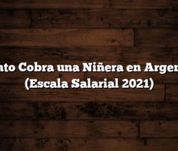 Cuánto Cobra una Niñera en Argentina  (Escala Salarial 2021)