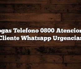 Ecogas Telefono 0800 Atencion al Cliente Whatsapp Urgencias