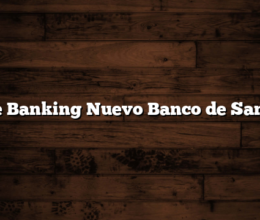 Home Banking Nuevo Banco de Santa Fe