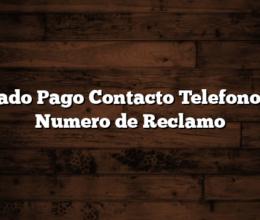 Mercado Pago Contacto Telefono 0800 Numero de Reclamo