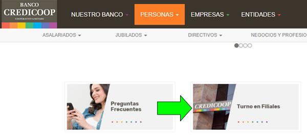 Cómo pedir un turno en el Banco Credicoop Argentina  Atención en sucursal y filiales del país