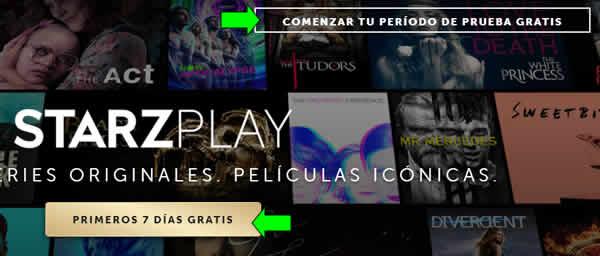 Cómo ver StarzPlay en Argentina  Contratar para ver series y películas de Starz