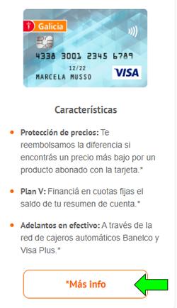 Cómo solicitar y habilitar tarjeta de crédito Banco Galicia en Argentina  Límites, teléfono y resumen